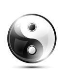 Ying yang symbol Royalty Free Stock Photos