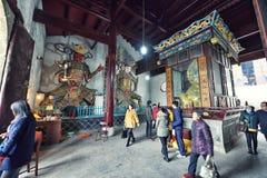 YingJiang Temple Stock Photo