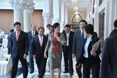 Yingluck Shinawatra Arkivfoto