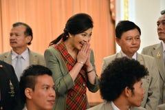 Yingluck Shinawatra Royaltyfri Bild
