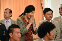 Yingluck Shinawatra Royalty Free Stock Image
