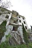 Yingxiu trzęsienia ziemi ruiny Xuankou szkoły średniej ruiny Obrazy Stock