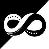 Yingyang infinity Stock Images