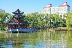 Yingze Park stock photos