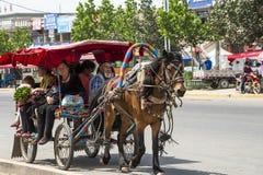 Yining county, Xinjiang Stock Image
