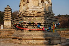 Yinshan pagodas Royaltyfria Foton