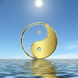 YinYang stock photos