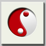 YinYang simbol Royalty Free Stock Images