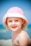 Yippieh !!! - holiday at the beach - Royalty Free Stock Photo