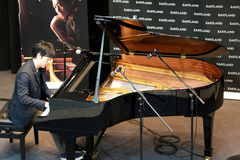 Yiruma. 2013/5/4 Yiruma Melbourne life performance and autograph session in South Land mall Royalty Free Stock Photos