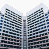 Yishun symmetri Arkivfoto