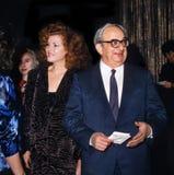 Yitzhak Navon och Ofira Navon arkivbilder