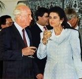 Yitzhak Rabin Royaltyfri Foto
