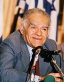 Yitzhak Shamir royalty-vrije stock afbeeldingen