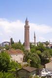 Yivli minaremoské Royaltyfri Fotografi