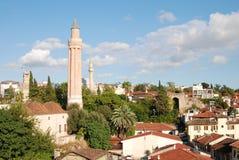 Yivli minaretcamii Arkivbilder