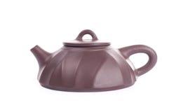 yixing黏土的茶壶 库存图片