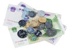 yiyuan kinesiska pengar Arkivfoton
