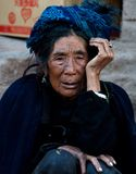 Yizu old woman Stock Photo