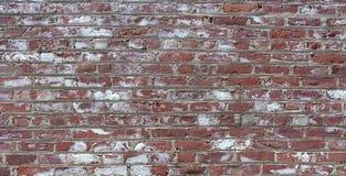 Żyłkowana Czerwonej cegły tekstura Zdjęcia Stock