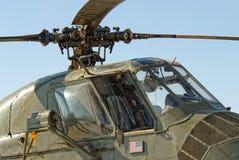 yl för 37 helikopter Arkivfoton