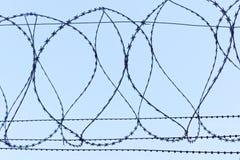 Żyletka drut Zdjęcie Stock