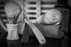 Żyletki golenia akcesoriów żyletka Zdjęcia Royalty Free