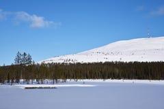 Ylläs Lapland Royaltyfria Bilder