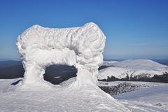 Ylläs, Laponie Images stock