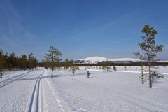 Ylläs, Lapland Royalty Free Stock Images