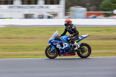 YMF澳大利亚超级摩托车锦标赛循环6 图库摄影