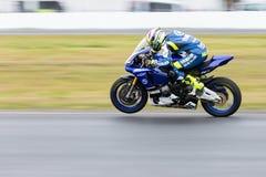 YMF Australian Superbike Championship Round 6. MELBOURNE/AUSTRALIA - OCTOBER 1, 2016: Yamaha Racing Team's Cru Halliday (65) during qualifying for Australian Stock Photo