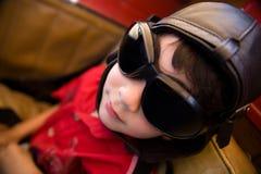 yngre pilot Royaltyfri Bild