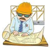 Inżynier royalty ilustracja