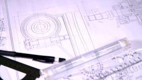 Inżynier dla rysunków zbiory wideo