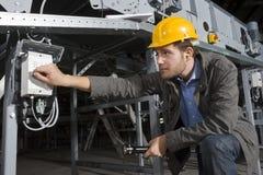inżynier ochrony Fotografia Stock