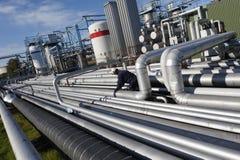 inżyniera olej paliwowy benzynowy Obrazy Stock