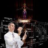 Inżynieria genetyczna Zdjęcie Royalty Free