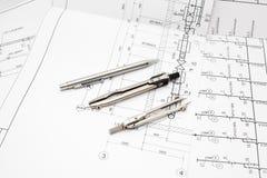 inżynieria instrumenty Fotografia Stock