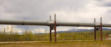 Inżynieria wyczyn w alaskim permafrost Fotografia Royalty Free