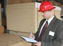inżynierii inspekcja Zdjęcia Stock