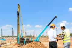 Inżyniery i budowy Zdjęcie Stock