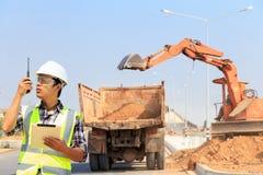 Inżyniery i budowy Obraz Stock