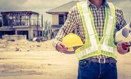 Inżyniery i budowy Obraz Royalty Free