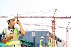 Inżyniery i budowy Zdjęcia Stock