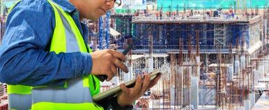 Inżyniery i budowy Obrazy Stock