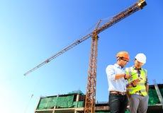 Inżyniery i budowy Fotografia Stock