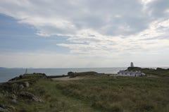Ynsy Llanddwyn海岛 库存图片
