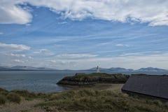 Ynsy Llanddwyn海岛 库存照片