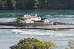 Ynys a donné un coup de corne l'île de Goch Photo libre de droits